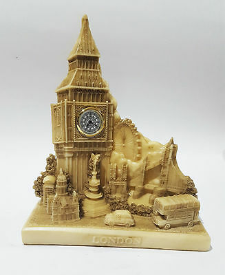 Decoration Souvenir Detailing London Skyline Big Ben Tower Bridge Clock Gift UK