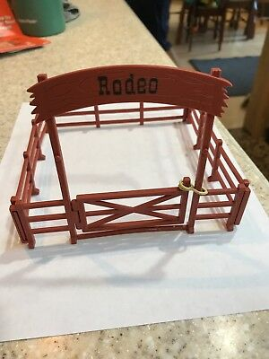 Grand Champions Horses Corral Rodeo Playset