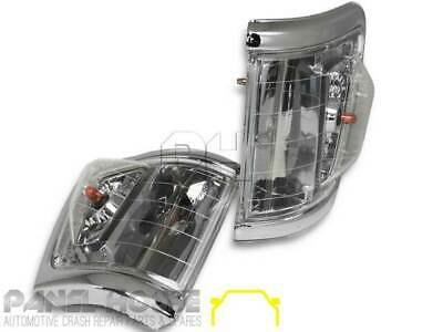 Blinker Park Light Crystal Clear 4WD Style SET Fits Toyota Hilux Ute 1992-1996