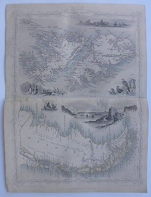 'Falkland Islands and Patagonia', Engraved Map, J. Rapkin, c.1850s