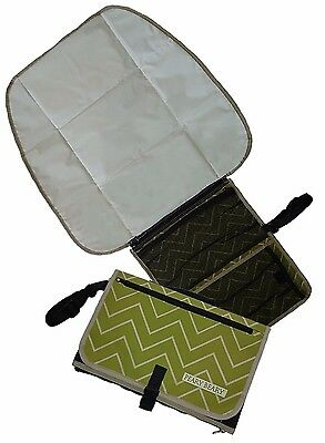 Baby Portable Changing Station Diaper Clutch Changing Pad Mat w/ Head Cushion