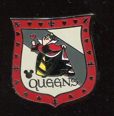 DLR 2017 Hidden Mickey Signs Queen of Hearts Restroom Disney Pin 119773