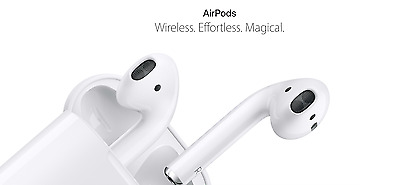 Apple AirPods 2nd Gen Bluetooth Earphones Air Pod With Charging Case only AU Stk