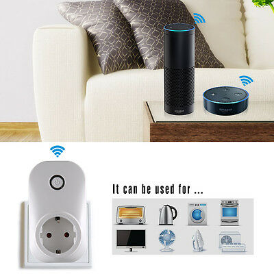 wi fi smart plug switch timer fernbedienung home lamp. Black Bedroom Furniture Sets. Home Design Ideas