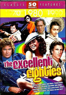 The Excellent Eighties. 50 Flick, 12 Disc Boxset. Big-Haired! New In Shrink!