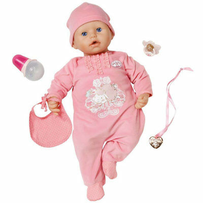 Baby Annabell Interactive Doll, Kids Realistic Newborn Active Baby Doll