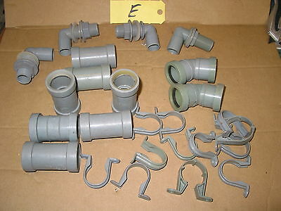 """32Mm Waste Pipe Fittings Mainly Bartol Push Fit + Overflow  1 1/4"""" Coupling  (E)"""