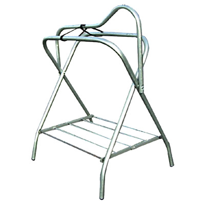 Folding Saddle Stand Intrepid International Galvanized Steel Stable Accessories