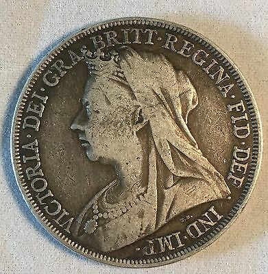 Great Britain 1894 Crown Coin
