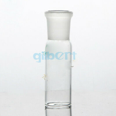 Multi Single Female Ground Joint Glass Straight Connecting Adapter Tube Labware