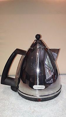 DeLonghi KBX3016.C 1.7L Jug Kettle, 3 Kilowatt - Polished Steel