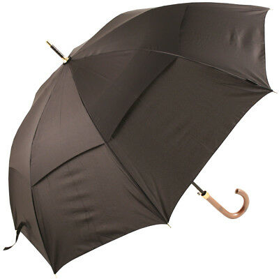 Stormking Classic 120 Black Vented Walking Length Umbrella