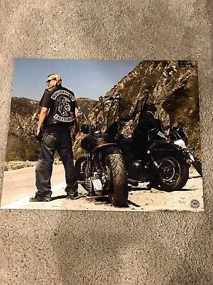 Sons of Anarchy Autographed Photo 8x10 Signed Charlie Hunnam Jax Teller SOA
