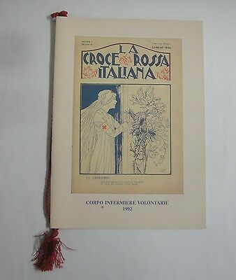 calendario croce rossa italiana 1992
