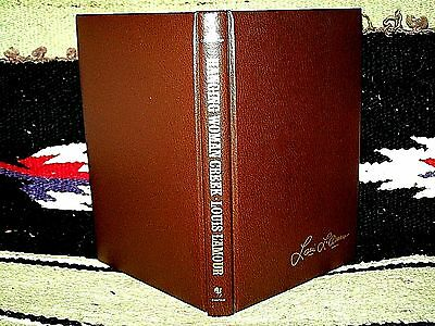 HANGING WOMAN CREEK by LOUIS L'AMOUR~1983 LEATHERETTE~WESTERN COWBOY HARDCOVER