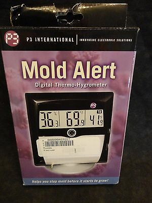P3 International Mold Alert Digital Thermo Hygrometer Precision Swiss NEW IN BOX