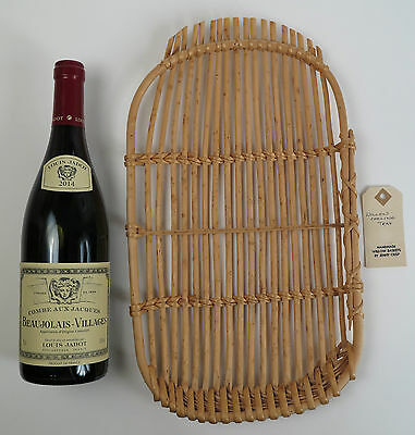 Jenny Crisp willow basket cooling tray. Contemporary craft.
