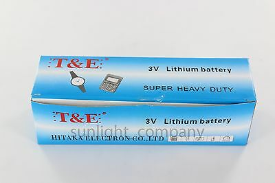 Wholesale lot of 100 pieces CR2032, Bulk 3V Lithium Coin Battery