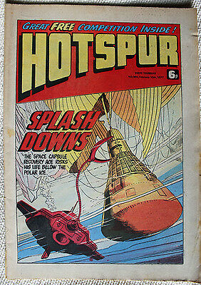 7 Hotspur Comics from 1977 Issues #900, 901, 903 to 906 & #909