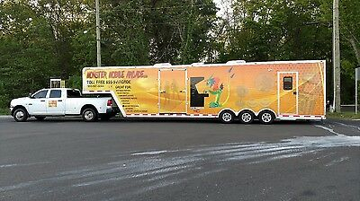 Classic Arcade Gaming Trailer Business