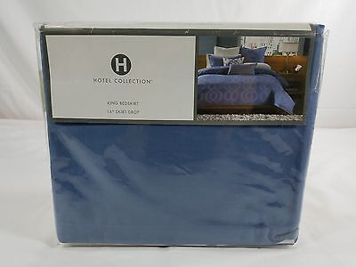 Hotel Collection Hexagon King Bedskirt  - MSRP $150