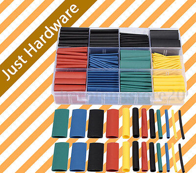 530pcs assorted Heat Tube Shrink wrap Tubing Assortment Wire Cable Insulation