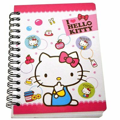 "1 X Hard Cover Hello Kitty Notebook 4""x 5.5"""
