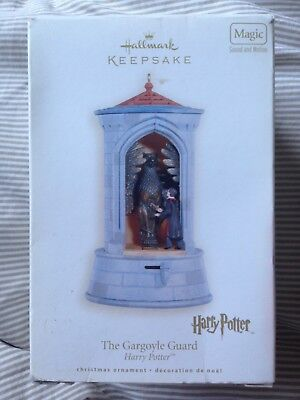 Hallmark Harry Potter Gargoyle Guard Sherbet Lemon 2008 Ornament