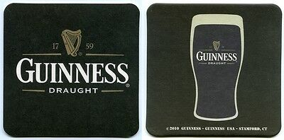 40 Stück Bierdeckel Guinness Draught Irland USA-Ausgabe Bar Party Theke Tresen