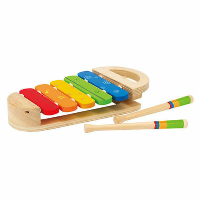 Hape Early Melodies Rainbow Xylophone Music Toys For Baby Toddler FREE Post NEW