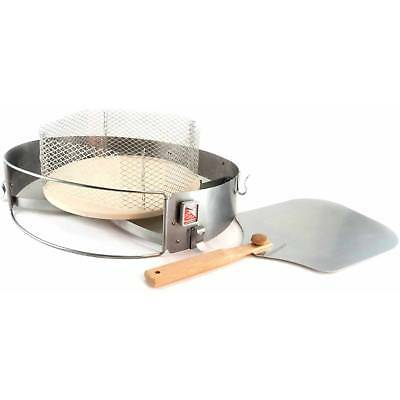 """Pizzacraft PizzaQue Deluxe Kettle Grill Pizza Oven Conversion Kit for 18"""" and 2"""