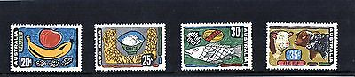 1972 Australia Primary Industries Set Of 4 Mint Never Hinged, Clean & Fresh