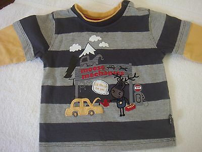 Pumpkin Patch Baby Boys L/s Top Size 00