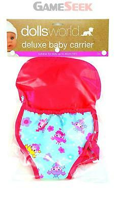 Dolls World 8215 Deluxe Baby Carrier - Toys Brand New Free Delivery