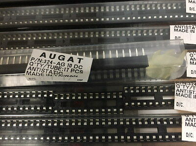 """350+ AUGAT brand 24 pin DIP Sockets .300"""" wide, .100 pitch tin plated 324-AG 10"""