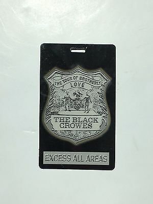 The Black Crowes and Oasis All Access Backstage Pass Tour Laminate VIP Rare