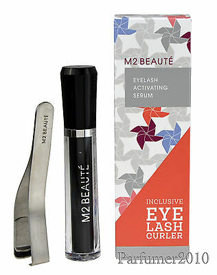 16,18€ /1ml  M2 Beaute Lashes Eyelash activating Serum 5ml & Wimpernzange
