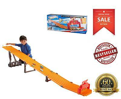 Hot Wheels Super 6-Lane Raceway Playset Perfect Christmas Holiday Gift For Boys