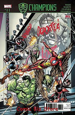 Champions #11 (2017) 1St Printing Bagged & Boarded Secret Empire Tie-In