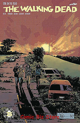 Walking Dead #170 (2017) 1St Printing Bagged & Boarded Image