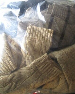 Lot of 15 Mens & Womens Wool Sweaters for Crafts (Unraveling, Felting etc)