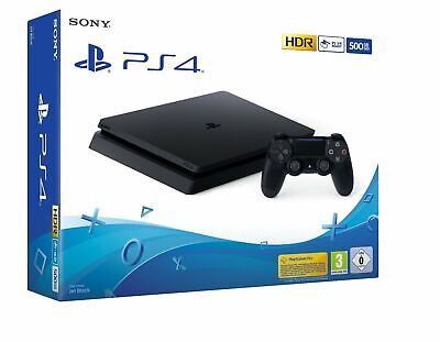 PS4 Slim Negra 500Gb Consola Playstation 4