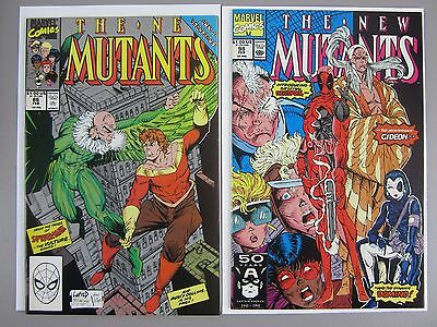 New Mutants # 74 - 100 Incomplete, Includes Cable (86) and Deadpool  - Lot of 20