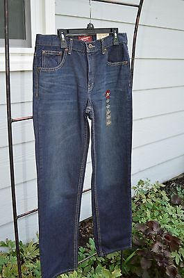 32X30 Jeans Boys Size 18 Regular Straight Jeans Adjustable Waist New With Tags!