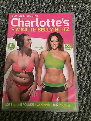 Charlotes 3 minute belly blitz Dvd