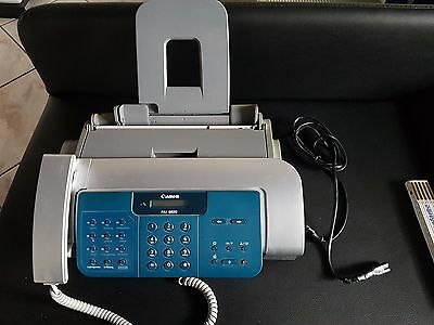 CANON FAX B820 Small Office A4 plain paper Bubble Jet fax  Machine INCL HANDSET