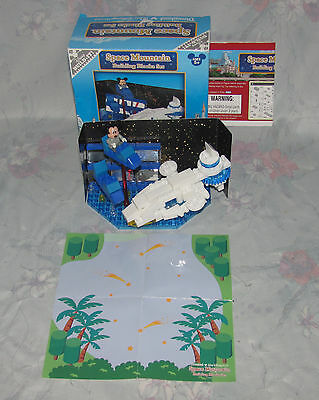 Disney Build It Space Mountain Building Block Set - Instructions, Micky Mouse