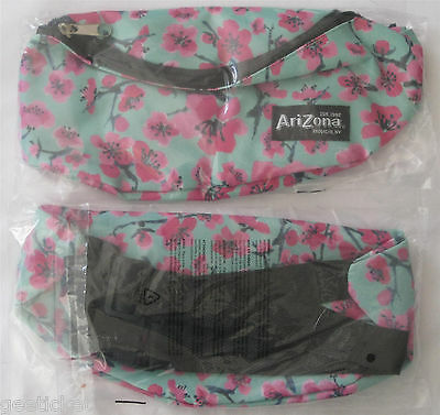 arizona GREEN TEA FANNY PACK lot of 2 - NEW in PACKAGE