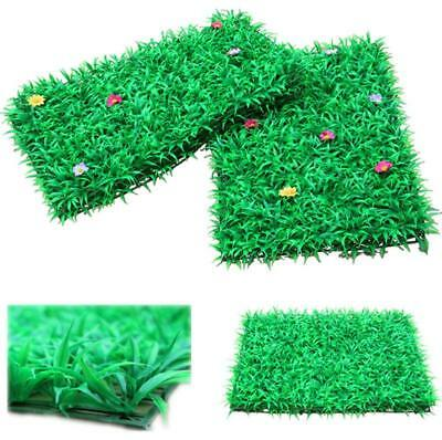 Artificial Pastic Simulation Grass Lawn Wall Hanging Decor Plant Garden Ornament