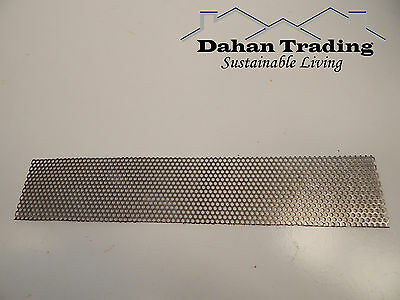 Perforated steel Mesh Screen sheet Dual feed chaff - Custom cut to size